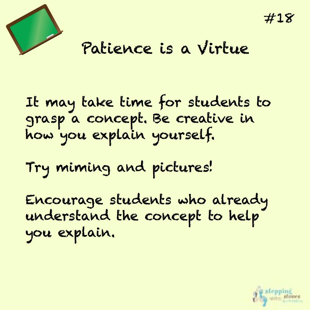 Teaching Tip 18