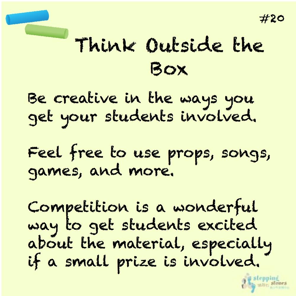 Teaching Tips | - Part 3