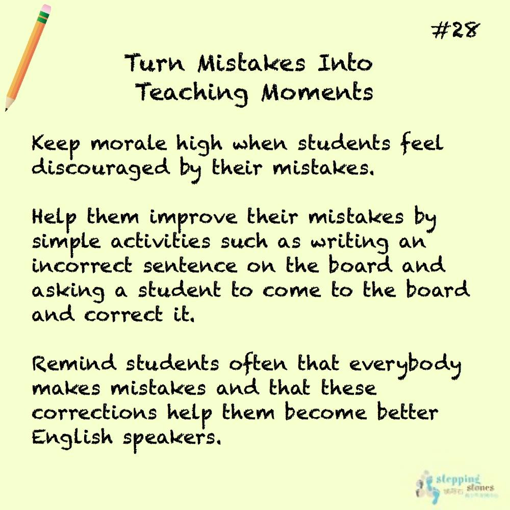 Teaching Tip #28