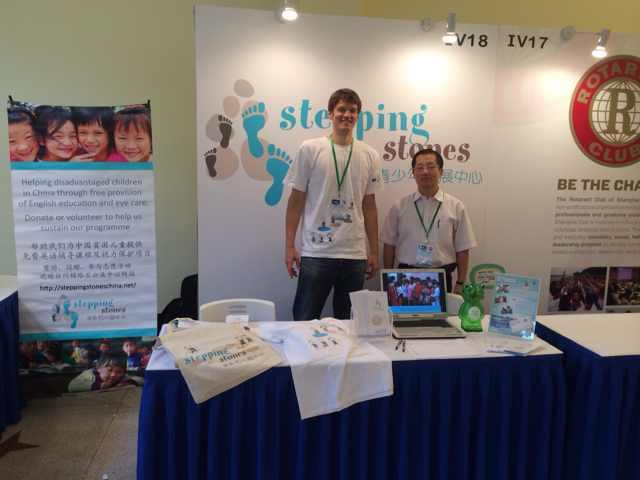 Stepping Stones at Expat Show Shanghai