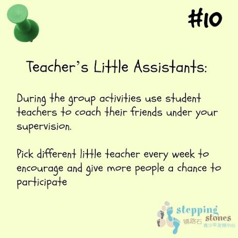 teaching tip #10