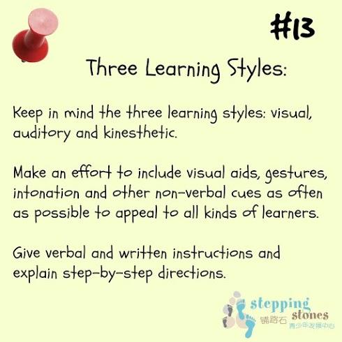 teaching tip #13
