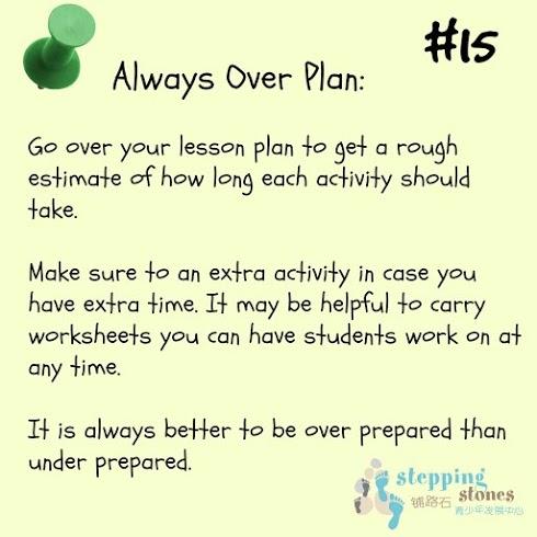 teaching tip #15